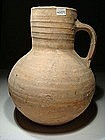 Large Byzantine Terracotta Pitcher, 600 AD.