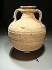 Byzantine Decorated Terracotta Wine Amphora, 600 AD.