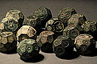 Lot of Islamic Bronze Weight, 600-800 AD. (15)