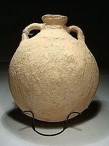 "Late Bronze Age ""Canaanite"" Flask, 1550-1200 BC."
