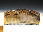 Meiji Period Japanese Geisha Hair Comb Accessory #73