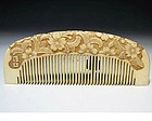 Antique Japan Geisha Hair Accessory Comb Kushi Set #1
