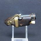 Very RARE Japanese gun Teppou shaped Netsuke sagemono