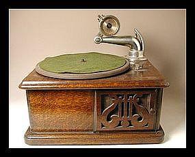 Antique Japanese MEIJI Period Gramophone Musical Player