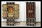 Japanese Buddhist Butsudan Altar - Makie Lacquer