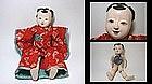 EDO Ichimatsu Daki-Ningyo Jointed Gofun Doll