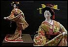 Large Signed Japanese Vintage Geisha Nihon Ningyo Doll