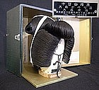 Retro Japanese Vintage Geisha Katsura Wig Hair Set - A