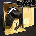 Retro Japanese Vintage Geisha Katsura Wig Hair Set - D