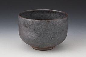A Named Sakurajima-yaki Chawan From the Ougaku Studio
