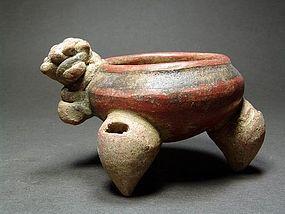 Costa Rican Zoomorphic Tripod, ca. 1000-1550 AD