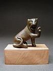 Roman Bronze Lion, 2nd/3rd Century AD