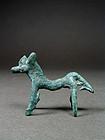 Amlash/Marlik Bronze Horse, Iron Age I-II, 1350-800 BC
