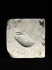 Limestone Mold for a Benu-Bird Plaque, LP, 664-332 BC