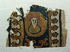 Coptic fragment from a clavus, 5th/7th century AD