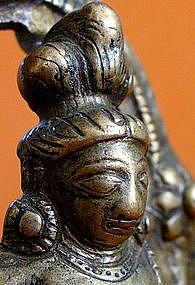 Rare Kashmiri Buddhist Bronze