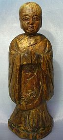Antique Chinese Buddhist Monk