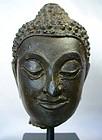 16th Century Thai Buddha Head