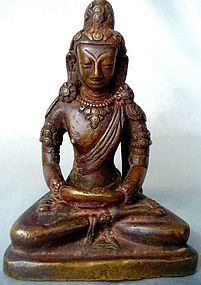 18th Century Nepalese Copper Amitayus