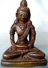 18th Century Nepalese Copper Amitayus