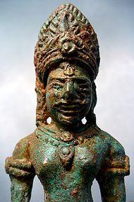 Khmer Bronze Statue of Shiva