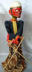 Antique Javanese Wayang Golek Puppet