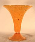 Orange Steuben Cintra Vase