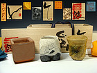 Special Sake Cup Set by Kakurezaki Ryuichi, Miwa Kazuhiko,Suzuki Goro