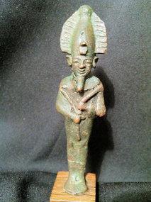 Interesting Bronze Osiris! 664 BC!