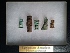 Collection of Five Egyptian Amulets!  600 BC!