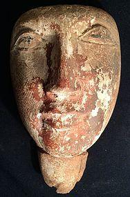 Beautiful Egyptian TIP Mask! Ca. 900 B.C.