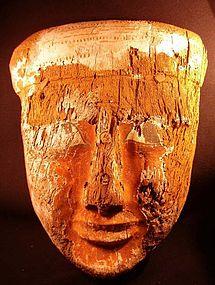 Beautiful Large Egyptian Mask! 664 BC!