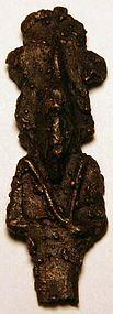 Large Egyptian Bronze Osiris