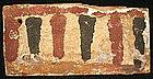 Egyptian 3rd Int. Pd. Panel W/Uraeus Design!