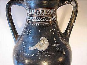 Splendid Gnathian Greek Pelike W/Dove - 4th Century B.C