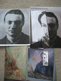 Roy Lichtenstein's Self-Portrait as Pablo Picasso