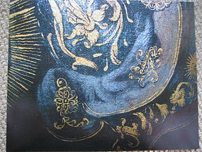 Honeysuckle Design Symbol on Armor of Old Master