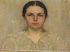 Warren B. Davis (1865-1928) Signed Portrait