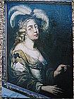 Portrait of a 19th Century European Lady