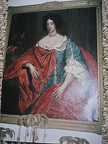 Mid 17th Century French Portrait of a Lady