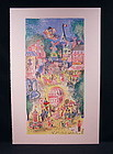 "Original Lithograph by Cobelle, ""Casino Paris"""