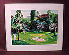 Serigraph by M. King,S/N'd, from Golf II