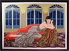 Beautiful Original Serigraph by Muramasa Kudo