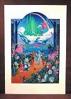 Original Serigraph, Melanie T. Kent, The Wizard of Oz