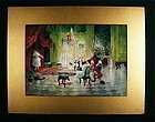 Rare Watercolor painting, Seth Corbett Jones, American