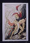 "Original Lithograph by Anne Lan, ""Persephone"""