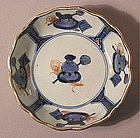 Unusual Ko Imari Bowl Tea Ceremony Utensils 19c