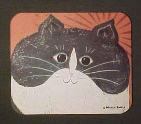 Mouse Pad for Sister's Gift,for Cat lover