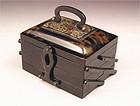 Lovely Japanese Bekko, Turtoise Shell Box