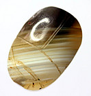 Important Egyptian banded agate scarab!